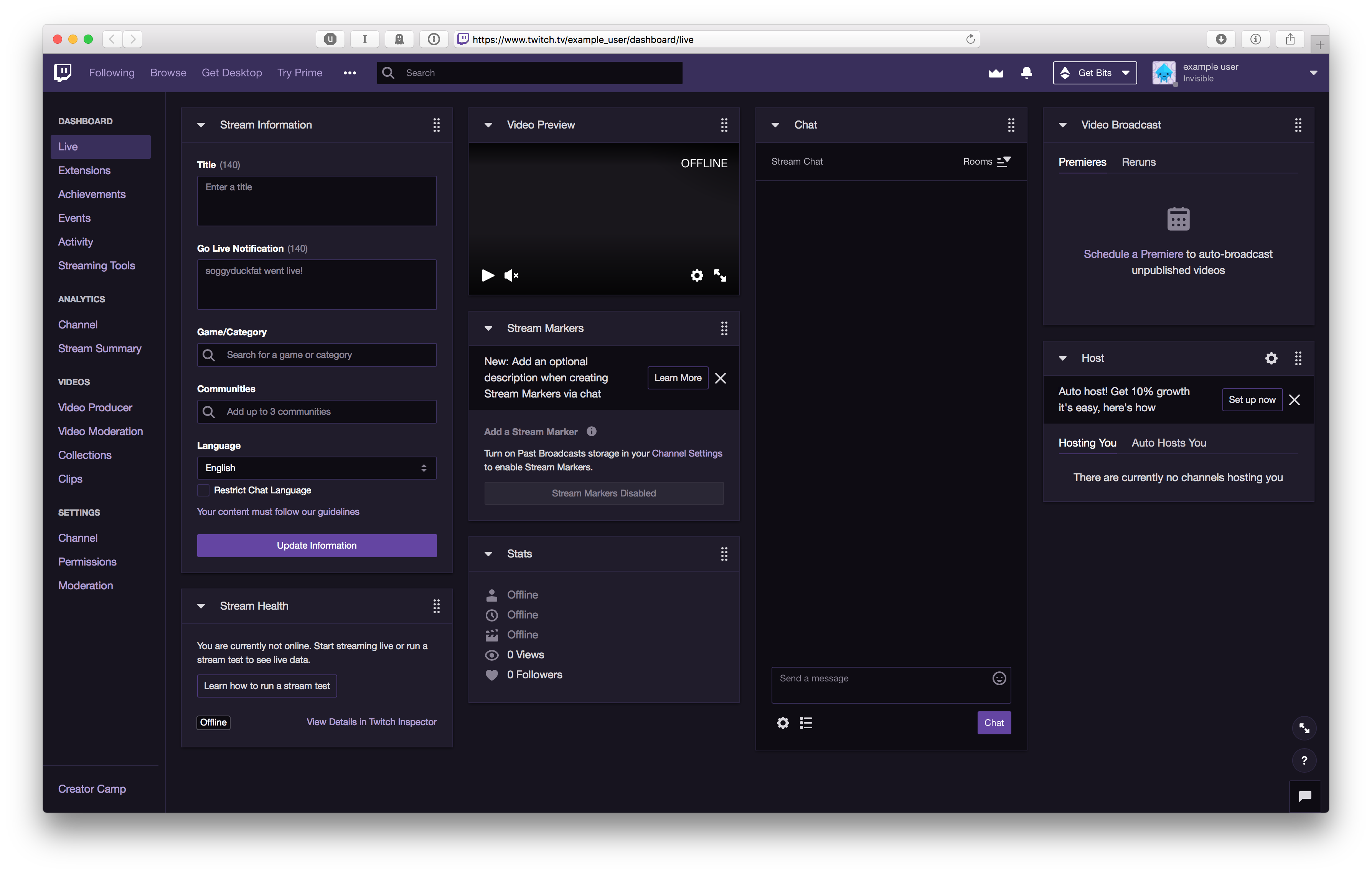 Twitch | inspect cool